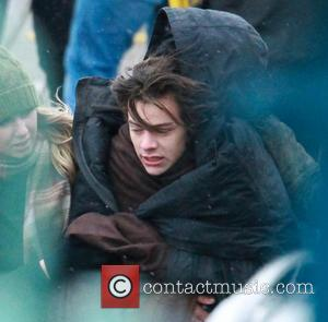 Harry Styles - 1 Direction shoot a music video on Clevedon pier - Clevedon Avon, United Kingdom - Monday 24th...