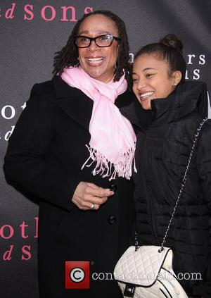 S. Epatha Merkerson and Guest - Opening Night for the Broadway play