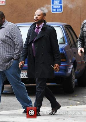 Columbus Short - 'Scandal' star Columbus Short spotted on set in downtown Los Angeles for the first time following an...