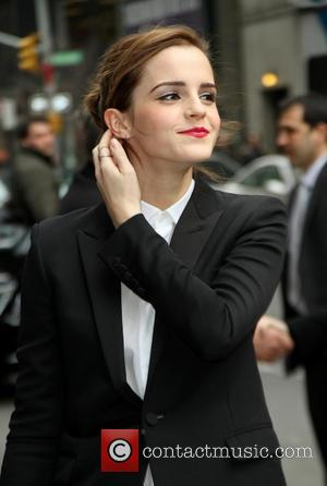 Emma Watson - Celebrities outside the Ed Sullivan Theater as they arrive for the Late Show with David Letterman -...
