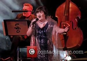 Susan Boyle - Susan Boyle performing live on stage at Manchester Bridgewater Hall - Manchester, United Kingdom - Tuesday 25th...