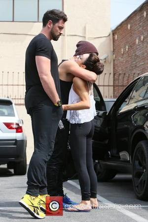 Maksim Chmerkovskiy, Meryl Davis and Valentin Chmerkovskiy - Meryl Davis seen at dance rehearsals for television show Dancing with the...