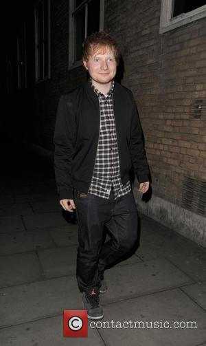 Ed Sheeran - Celebrities leaving Shoreditch House - London, United Kingdom - Tuesday 25th March 2014