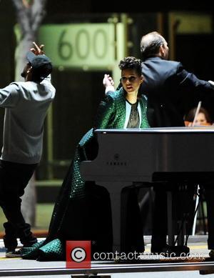 Alicia Keys and Kendrick Lamar