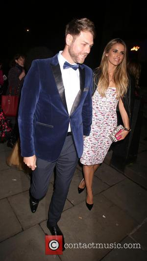 Brian McFadden and Vogue Williams - I Can't Sing! The X Factor Musical - After party at No.1 Marylebone -...