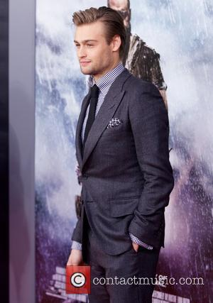 Douglas Booth - New York Premiere of 'Noah' held at The Ziegfeld Theater - Arrivals - New York City, New...