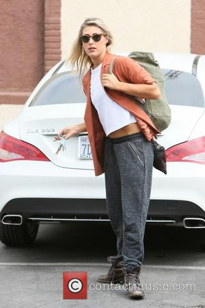 Emma Slater - Emma Slater arriving at rehearsals for 'Dancing with the Stars' - Los Angeles, California, United States -...