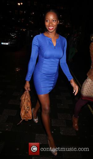 Jamelia - I Can't Sing! The X Factor Musical - After party at No.1 Marylebone - Outside Arrivals - London,...