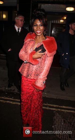 Sinitta - I Can't Sing! The X Factor Musical - After party at No.1 Marylebone - Outside Arrivals - London,...