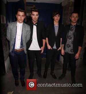 Union J, Josh Cuthbert, JJ Hamblett, Jaymi Hensley and George Shelley - I Can't Sing! The X Factor Musical -...