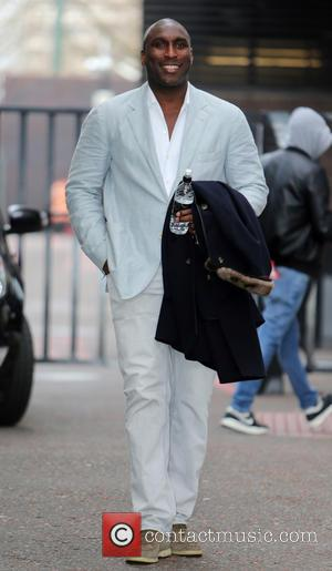 Sol Campbell - Sol Campbell outside the ITV studios - London, United Kingdom - Wednesday 26th March 2014