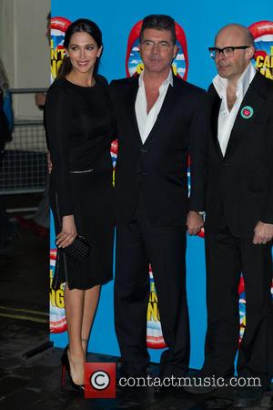 Lauren Silverman & Simon Cowell & Harry Hill - The opening night of X Factor musical I can't Sing at...