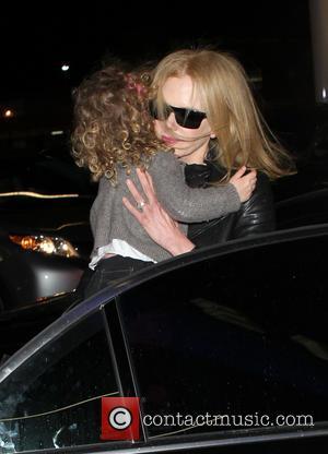 Nicole Kidman and Faith Margaret Kidman Urban
