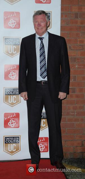 Sir Alex Ferguson - Darren Fletcher and Lewis Moody host an exclusive night of fundraising for Crohn's and Colitis -...