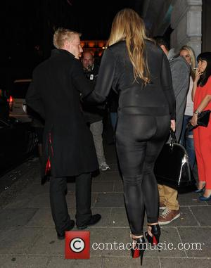 Lauren Goodger - Lauren Goodger leaving Novikov restaurant - London, United Kingdom - Thursday 27th March 2014