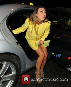 Luisa Zissman - Luisa Zissman leaving Novikov restaurant - London, United Kingdom - Thursday 27th March 2014