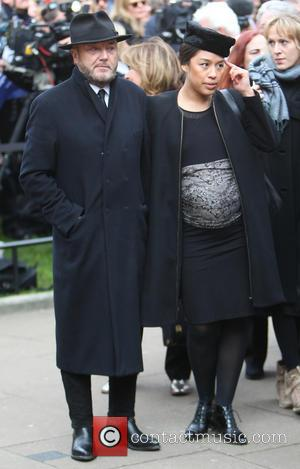 George Galloway and Putri Gayatri Pertiwi