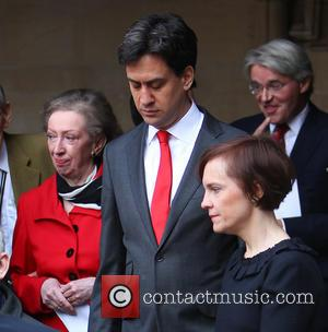 Margaret Beckett, Ed Miliband and Justine Thornton
