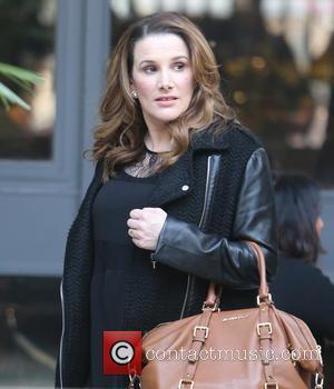 Sam Bailey - Sam Bailey outside the ITV studios - London, United Kingdom - Thursday 27th March 2014