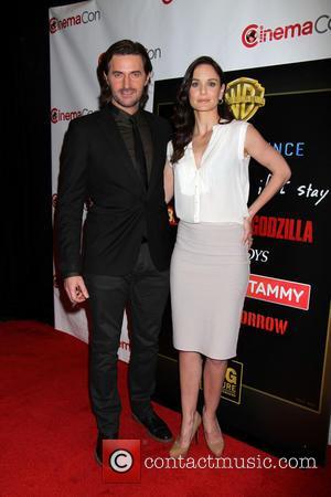 Richard Armitage and Sarah Wayne Callies - Warner Bros presentation at Cinemacon 2014 held at Caesars Palace Hotel & Casino...