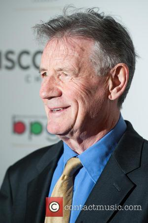 Michael Palin - Broadcasting Press Guild Awards held at the Theatre Royal - Arrivals. - London, United Kingdom - Friday...