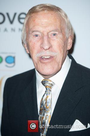 Sir Bruce Forsyth - Broadcasting Press Guild Awards held at the Theatre Royal - Arrivals. - London, United Kingdom -...