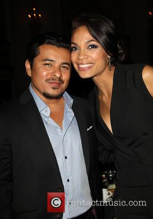 Jacob Vargas and Rosario Dawson