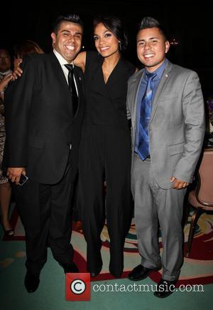 Mark Gonzalez, Rosario Dawson and Guest