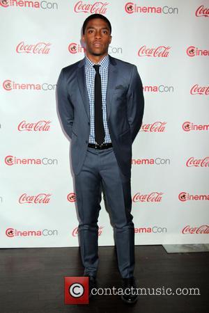Chadwick Boseman - Cinemacon Big Screen Achievement Awards 2014 held at Caesars Palace Hotel & Casino - Arrivals - Las...
