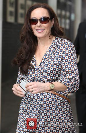 Amanda Mealing - Amanda Mealing outside ITV Studios - London, United Kingdom - Friday 28th March 2014