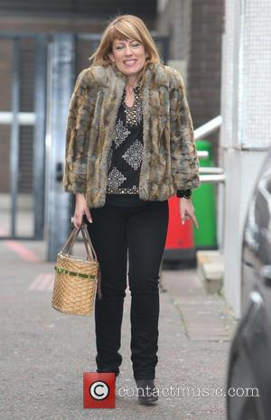 Fay Ripley - Fay Ripley outside the ITV Studios - London, United Kingdom - Friday 28th March 2014