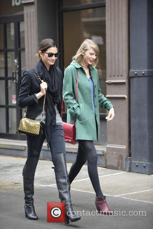 Lily Aldridge and Taylor Swift