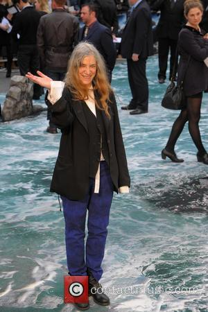 Patti Smith - 'Noah' U.K. Premiere held at the Odeon Leicester Square - Arrivals - London, United Kingdom - Friday...