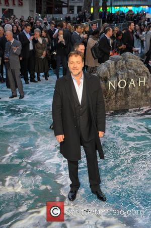 Russell Crowe - 'Noah' U.K. Premiere held at the Odeon Leicester Square - Arrivals - London, United Kingdom - Friday...
