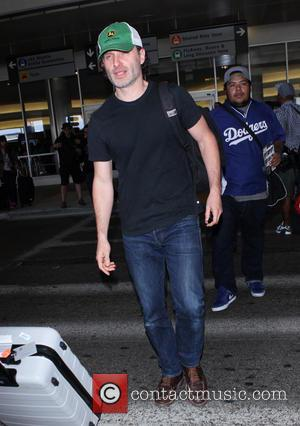 Andrew Lincoln - Andrew Lincoln at Los Angeles International Airport (LAX) - Los Angeles, California, United States - Saturday 29th...