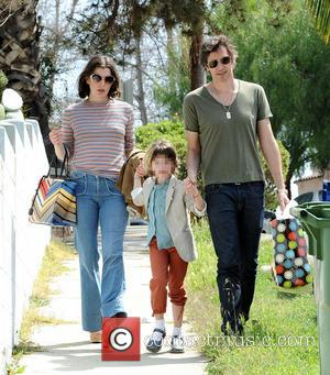 Milla Jovovich, Paul W. S. Anderson and Ever Anderson - Milla Jovovich and husband Paul W. S. Anderson take their...