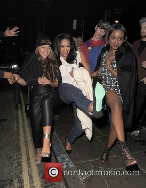 Chloe Green, Sarah-jane Crawford and Keisha Buchanan