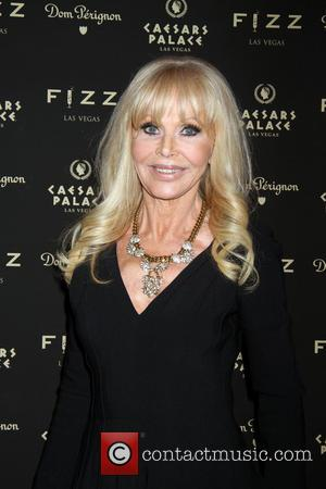 Britt Ekland - FIZZ Las Vegas grand opening and Elton John's birthday party at Caesars Palace Hotel & Casino -...