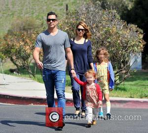 Jessica Alba, Haven Warren, Honor Warren and Cash Warren - Jessica Alba heads to the park with her family and...