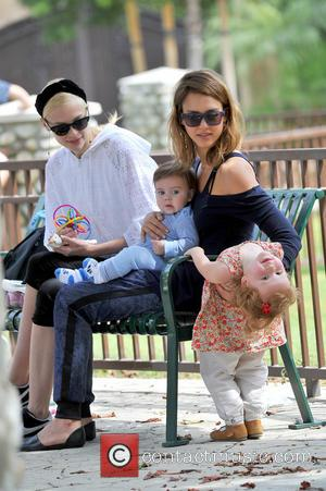 Jessica Alba, James Knight Newman, Jaime King and Haven Warren