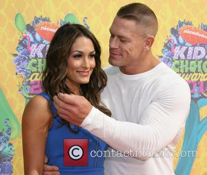 Nicole Garcia-colace and John Cena