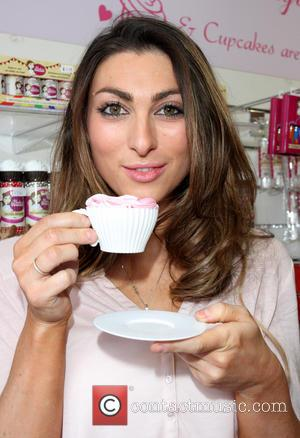Luisa Zissman - Luisa Zissman at her cake shop, Dixie's Cupcakery in St Albans - St Albans, Hertfordshire, United Kingdom...