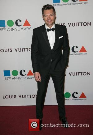 Ryan Seacrest - Celebrities attend MOCA's 35th Anniversary Gala presented by Louis Vuitton welcoming new Director Philippe Vergne at The...
