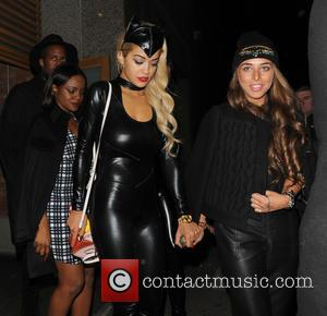 Rita Ora, Keisha Buchanan and Chloe Green