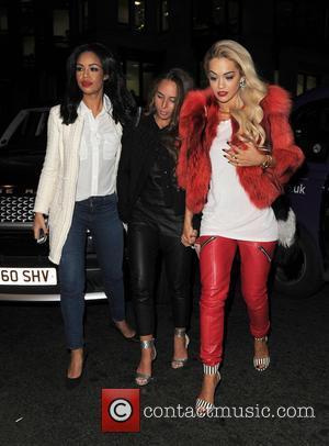 Rita Ora, Chloe Green and Sarah-jane Crawford