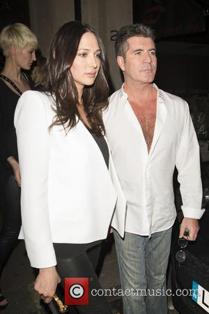 Simon Cowell and Lauren Silverman - Celebrities including Simon Cowell and Lauren Silverman at Jason Gale's 44th birthday at Sanctum...