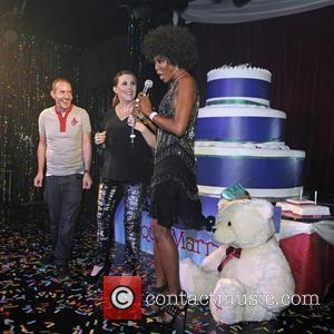 Sam Bailey, Naomi Campbell and Jeremy Joseph