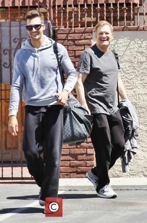 James Maslow and Drew Carey