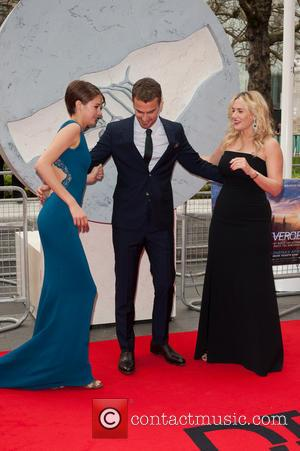 Kate Winslet, Shailene Woodley and Theo James - The European Premiere of 'Divergent' held at the Odeon Leicester Square -...