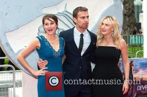 Theo James, Shailene Woodley and Kate Winslet